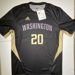 Adidas Washington Huskies Soccer Jersey Size Large